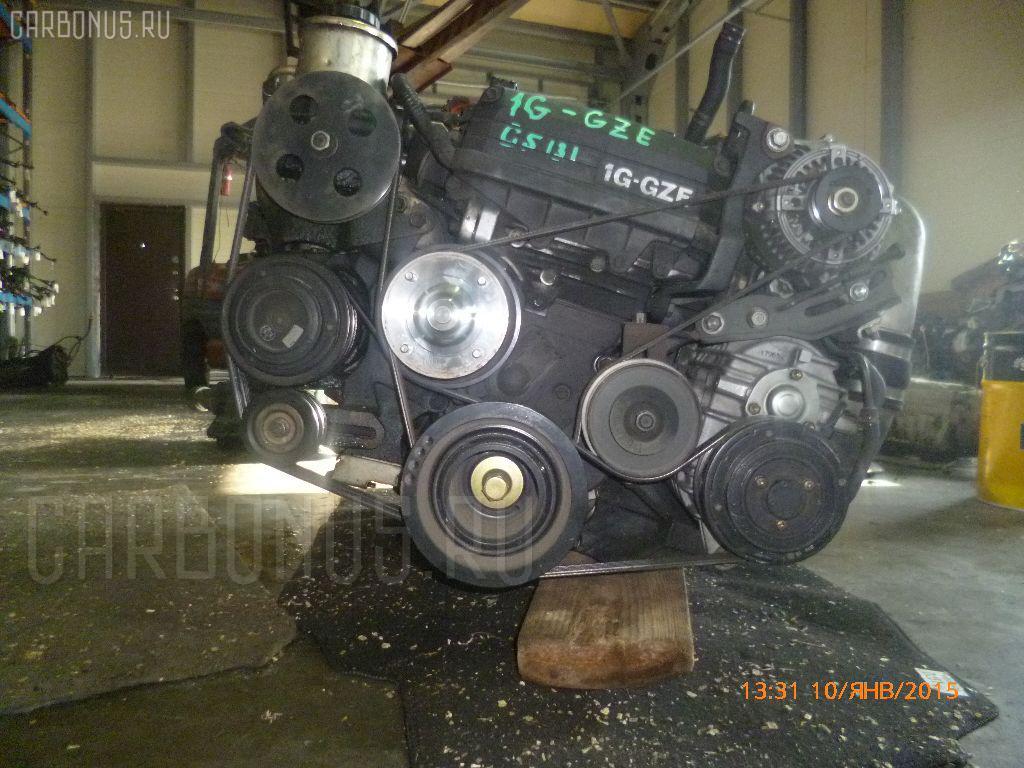 Двигатель TOYOTA CROWN GS131 1G-GZE. Фото 8