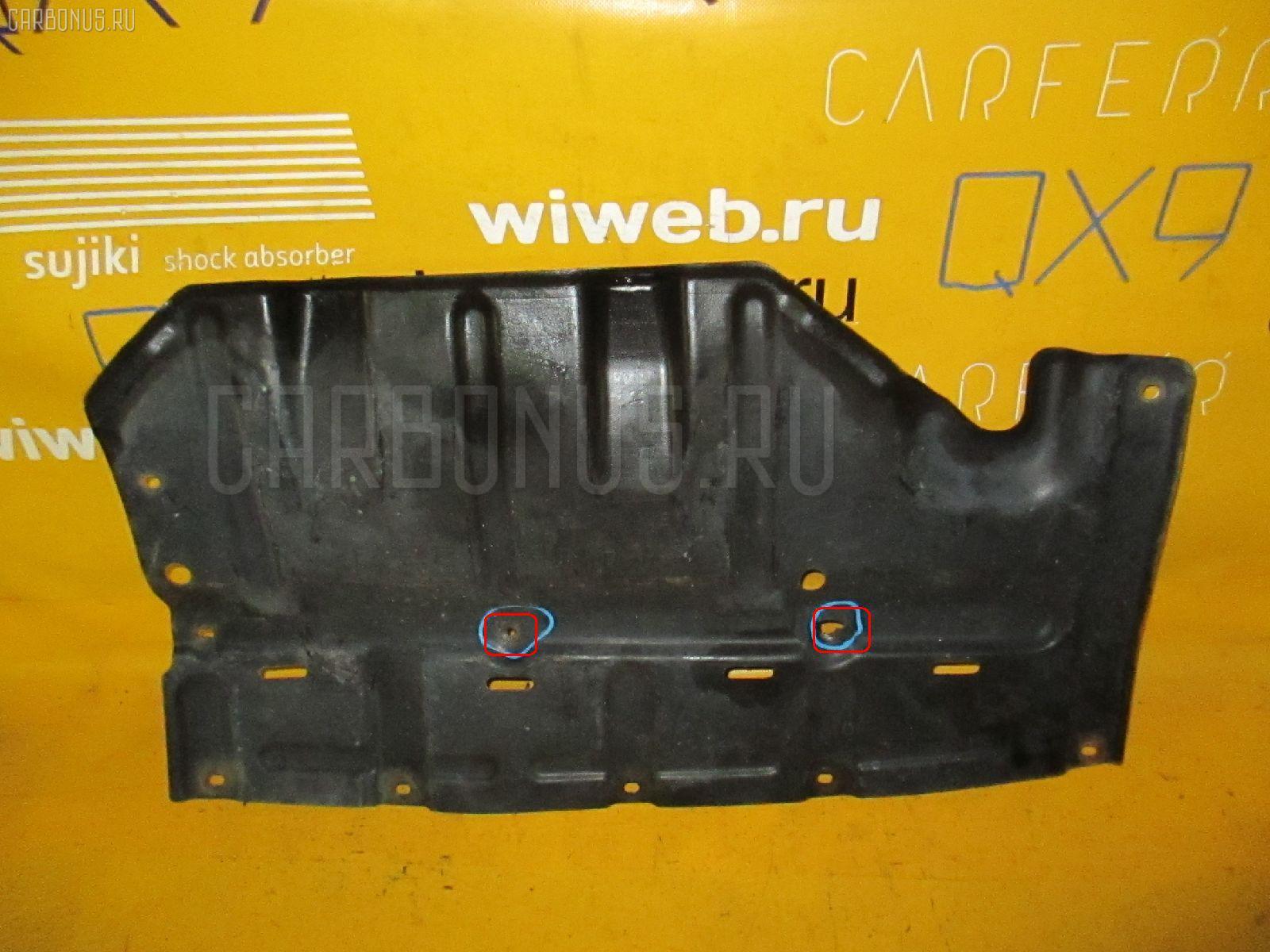 Защита двигателя TOYOTA CROWN WAGON JZS130G 1JZ-GE. Фото 2
