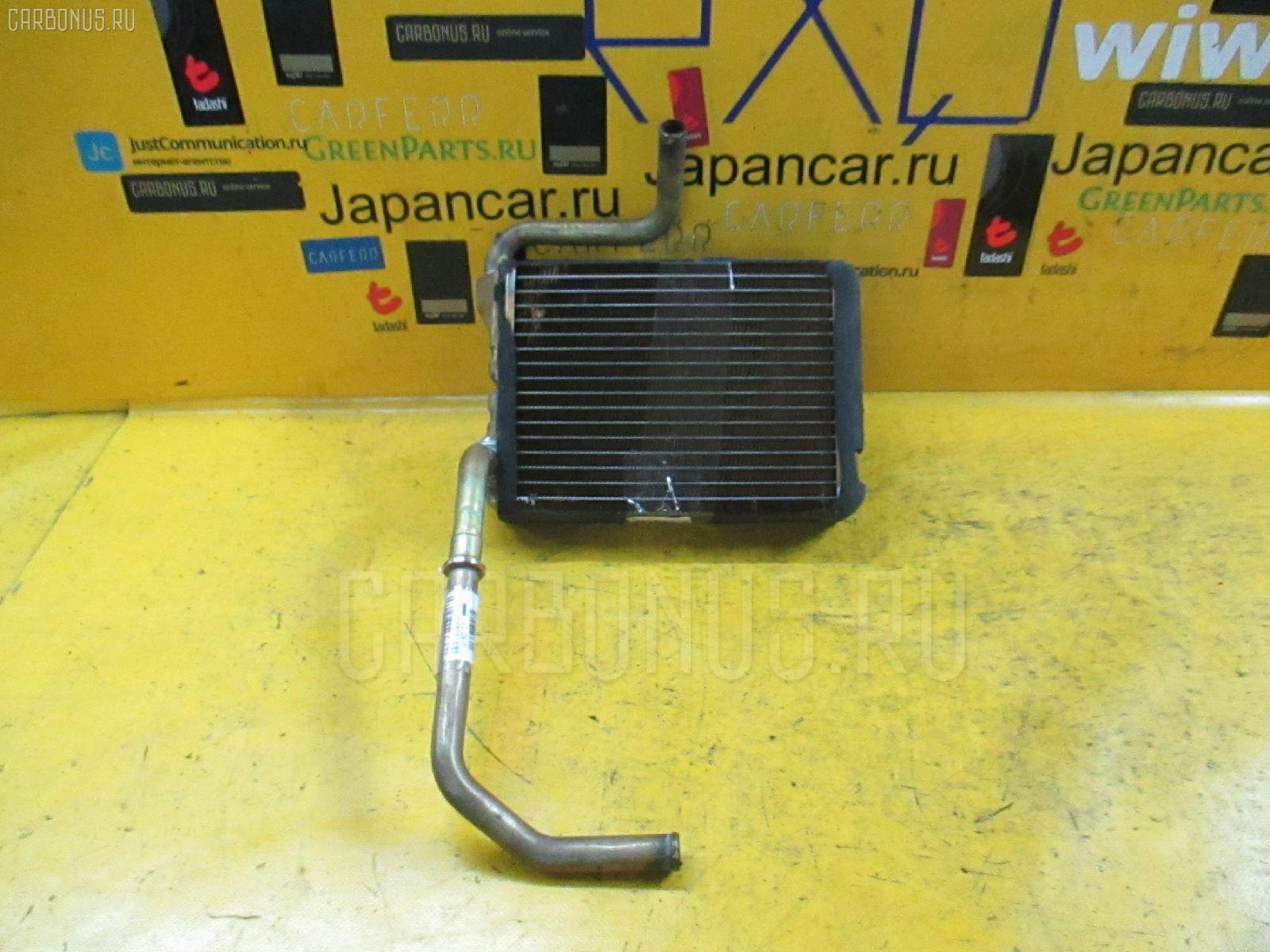 Радиатор печки TOYOTA CROWN WAGON JZS130G 1JZ-GE. Фото 1