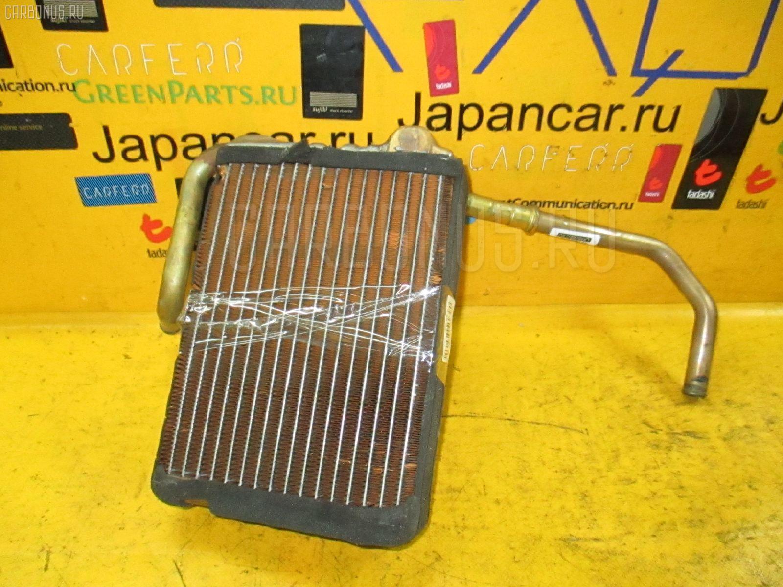 Радиатор печки TOYOTA CROWN WAGON JZS130G 1JZ-GE. Фото 2