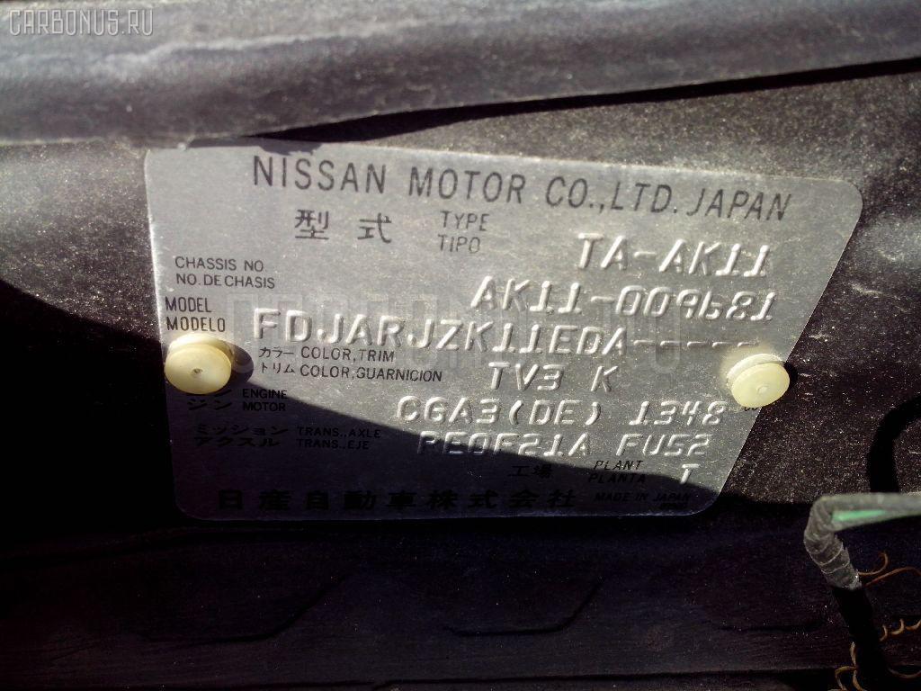 Подставка под аккумулятор NISSAN MARCH AK11 Фото 3