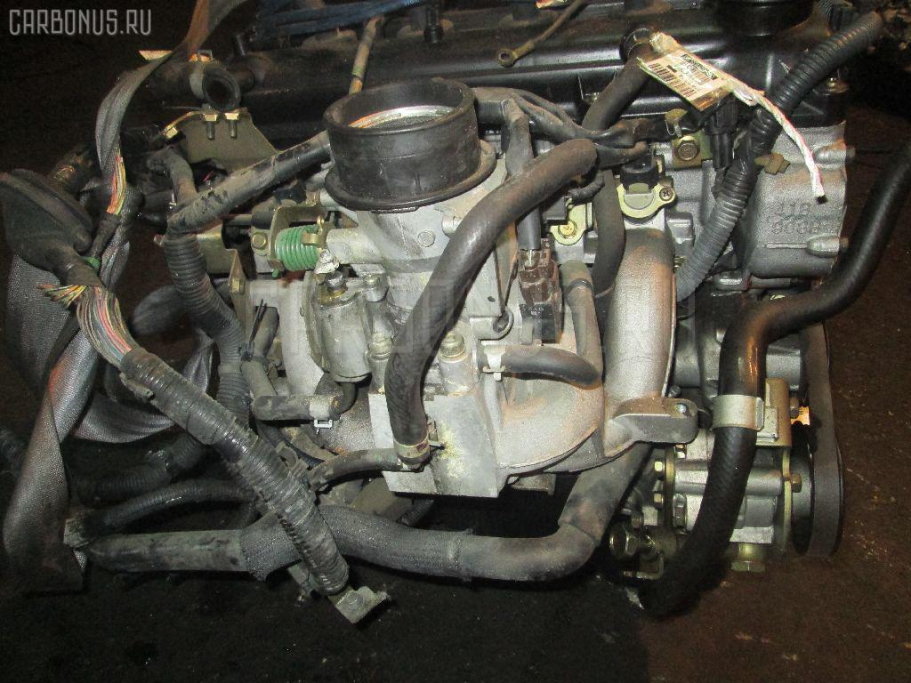 Двигатель NISSAN MARCH AK11 CGA3DE. Фото 4
