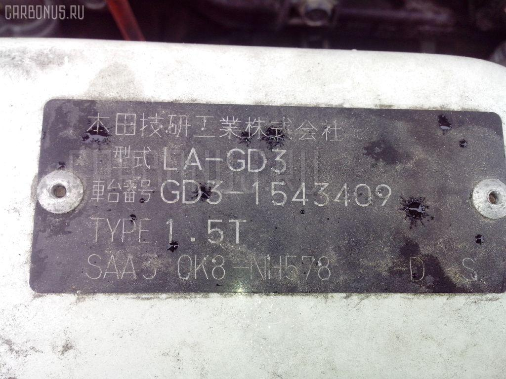 Крепление подушки ДВС HONDA FIT GD3 L15A Фото 2