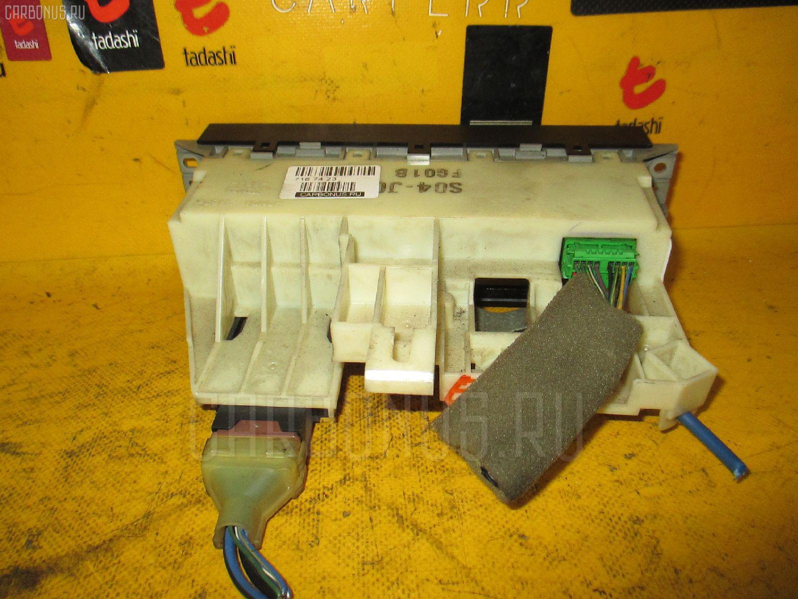 Блок управления климатконтроля HONDA PARTNER EY7 D15B. Фото 7