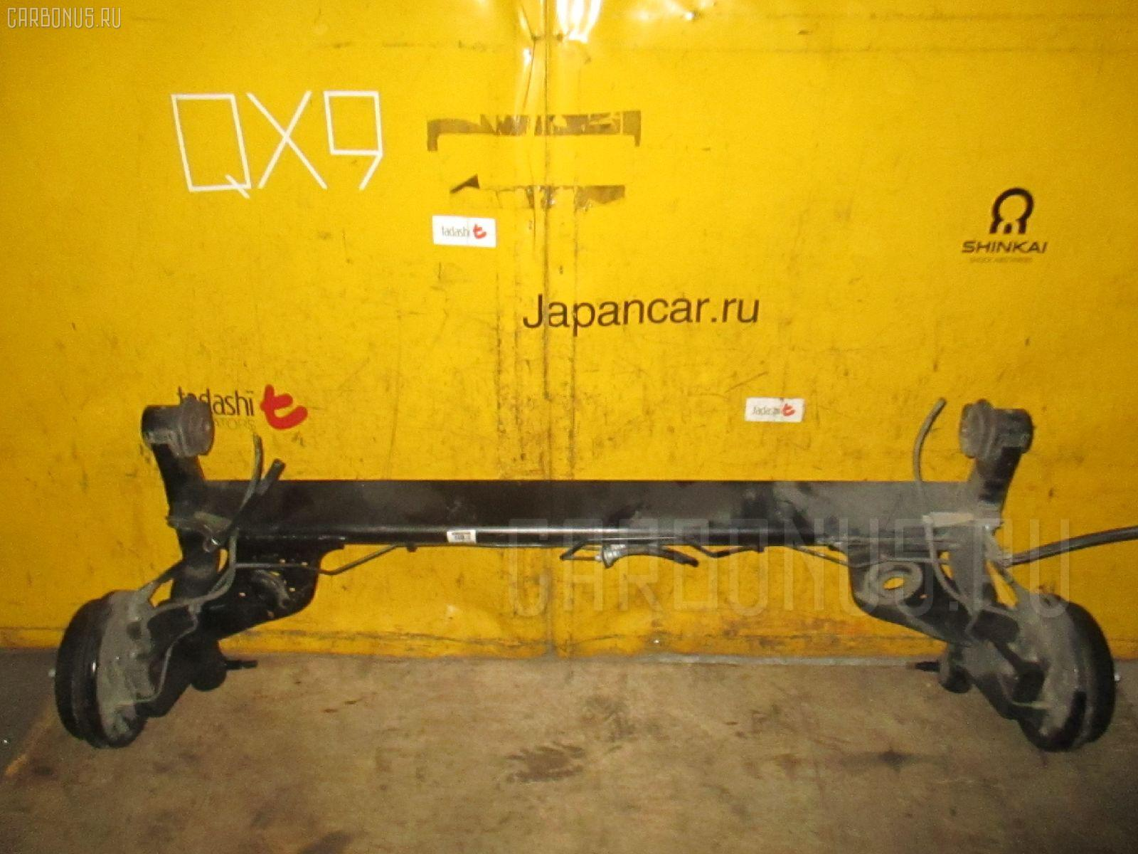 Балка подвески SUZUKI SWIFT ZC11S M13A. Фото 7
