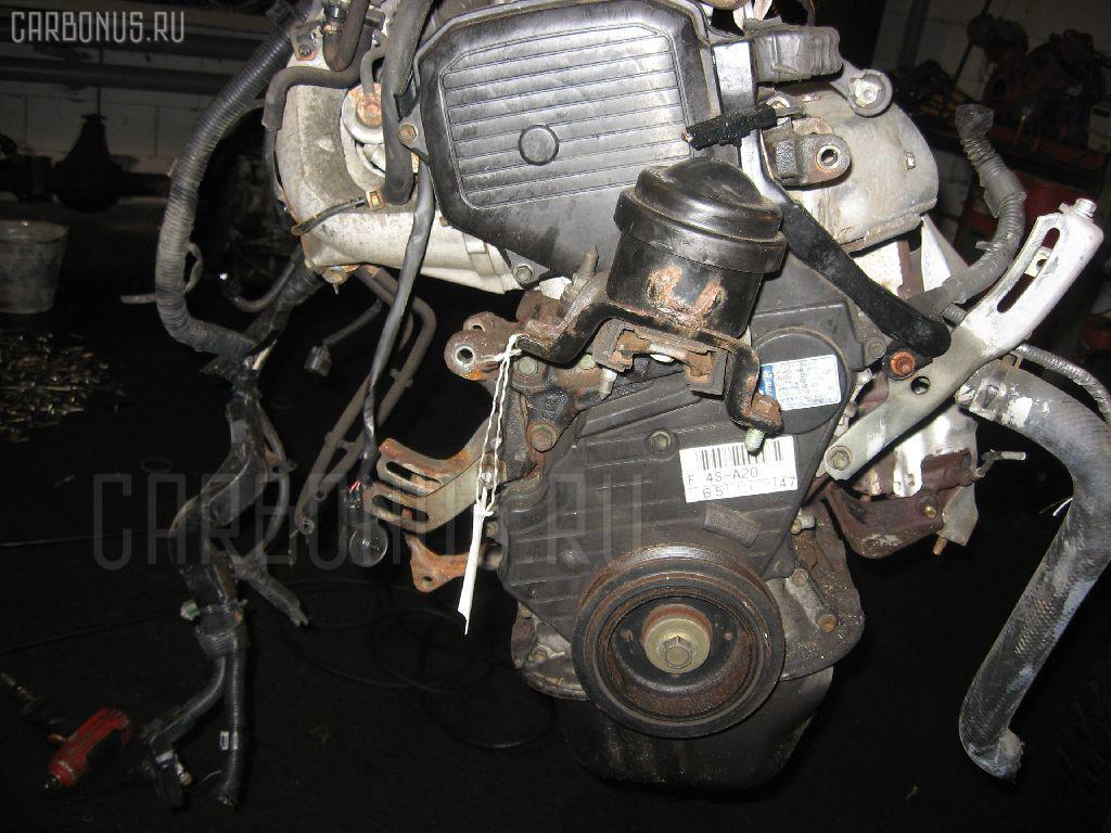 Двигатель TOYOTA CARINA ED ST200 4S-FE. Фото 8