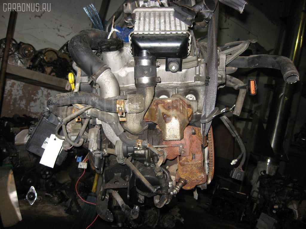 Двигатель SUZUKI KEI HN11S F6A-T Фото 3