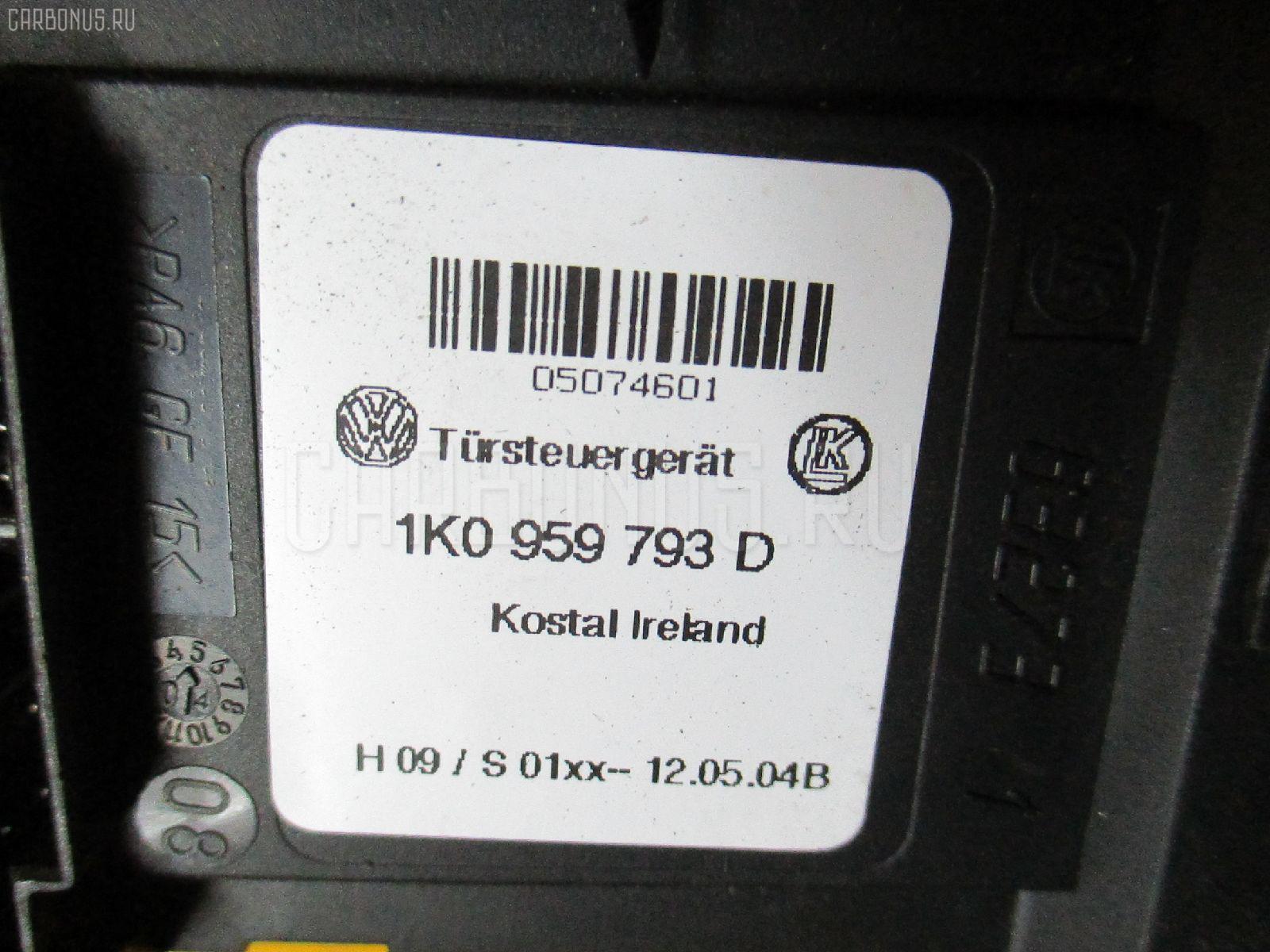 Стеклоподъемный механизм VOLKSWAGEN TOURAN 1TBLX Фото 1