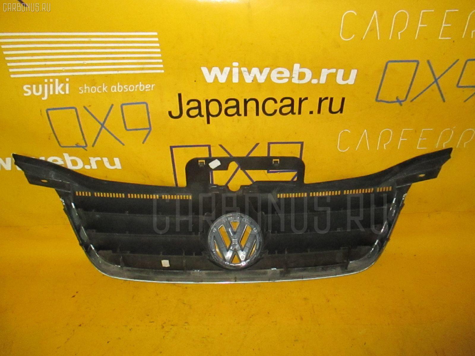Решетка радиатора VOLKSWAGEN TOURAN 1TBLX. Фото 4