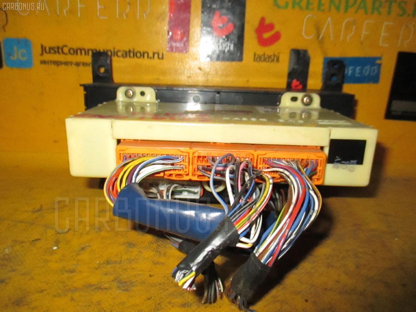 Блок управления климатконтроля TOYOTA CALDINA ST191G 3S-FE. Фото 11