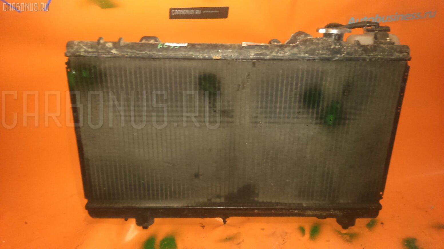 Радиатор ДВС TOYOTA COROLLA II EL53 5E-FE Фото 1