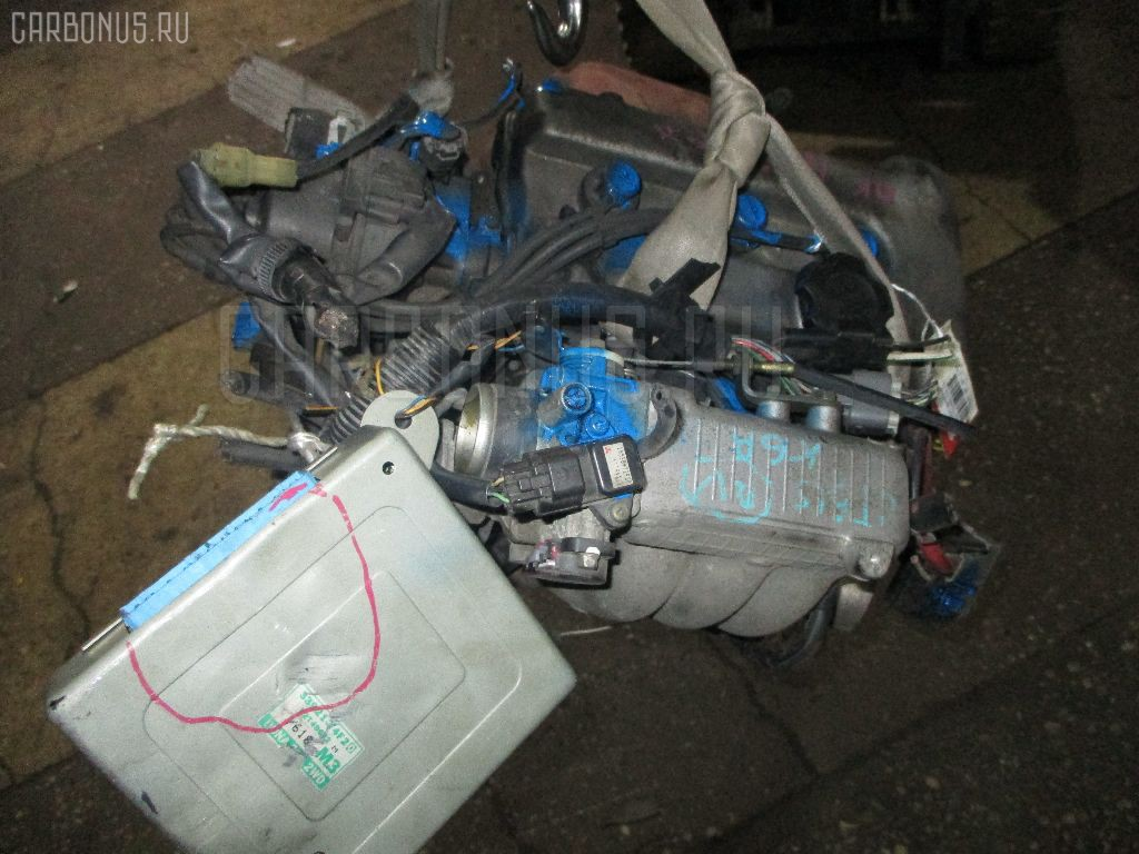 Двигатель SUZUKI WAGON R CT51S K6A Фото 3