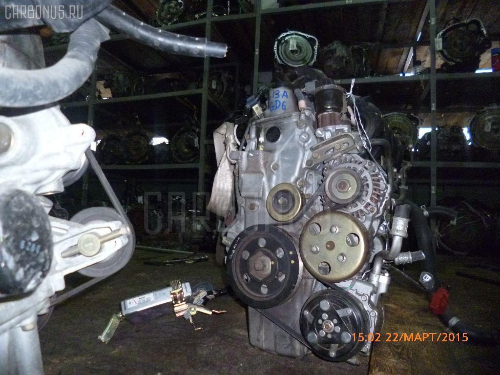 Двигатель HONDA FIT ARIA GD6 L13A. Фото 11