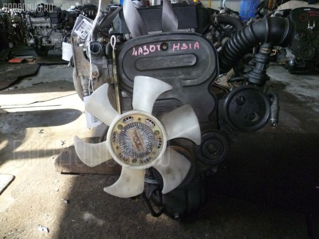Двигатель MITSUBISHI MINICA TOPPO H31A 4A30T Фото 4