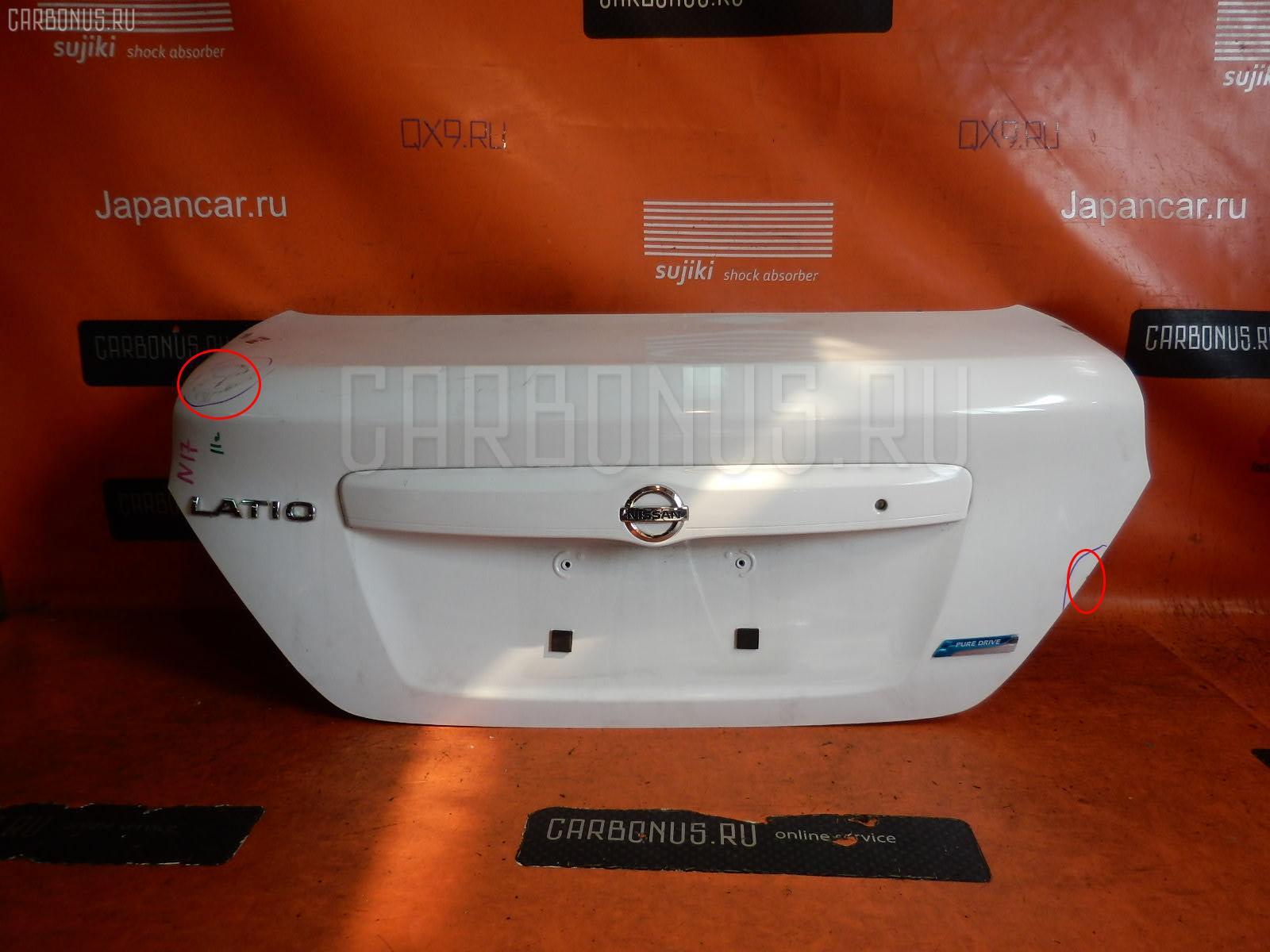 Крышка багажника NISSAN LATIO N17 Фото 1