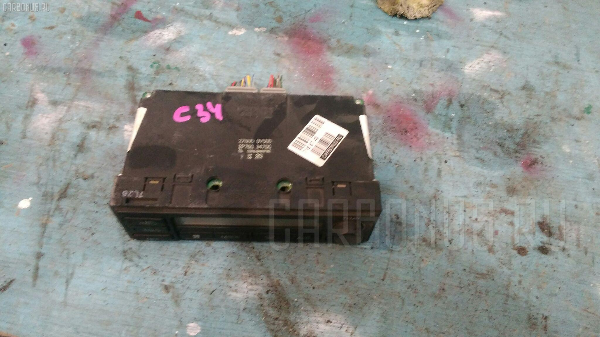 Блок управления климатконтроля Nissan Stagea WGNC34 RB25DE Фото 1