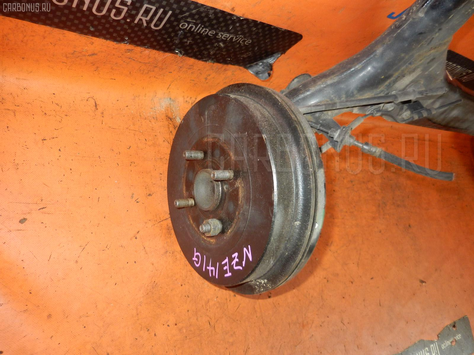 Балка подвески TOYOTA COROLLA FIELDER NZE141G 1NZ-FE. Фото 5