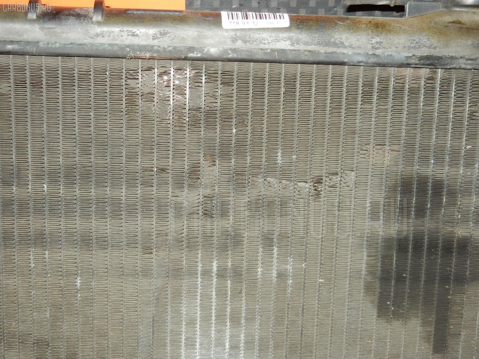 Радиатор ДВС TOYOTA STARLET EP82 4E-FE. Фото 4