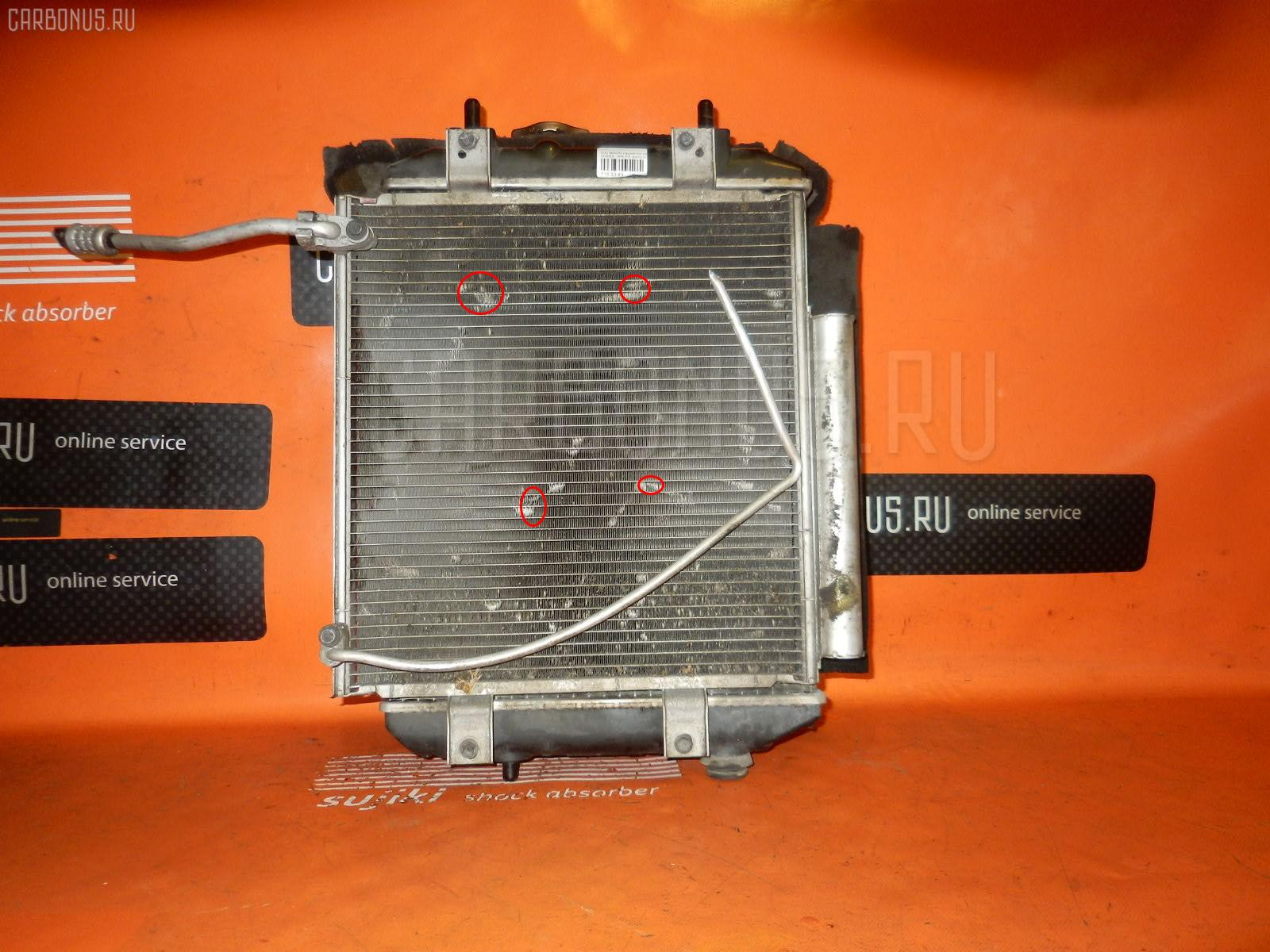 Радиатор ДВС DAIHATSU BOON M300S 1KR-FE. Фото 4