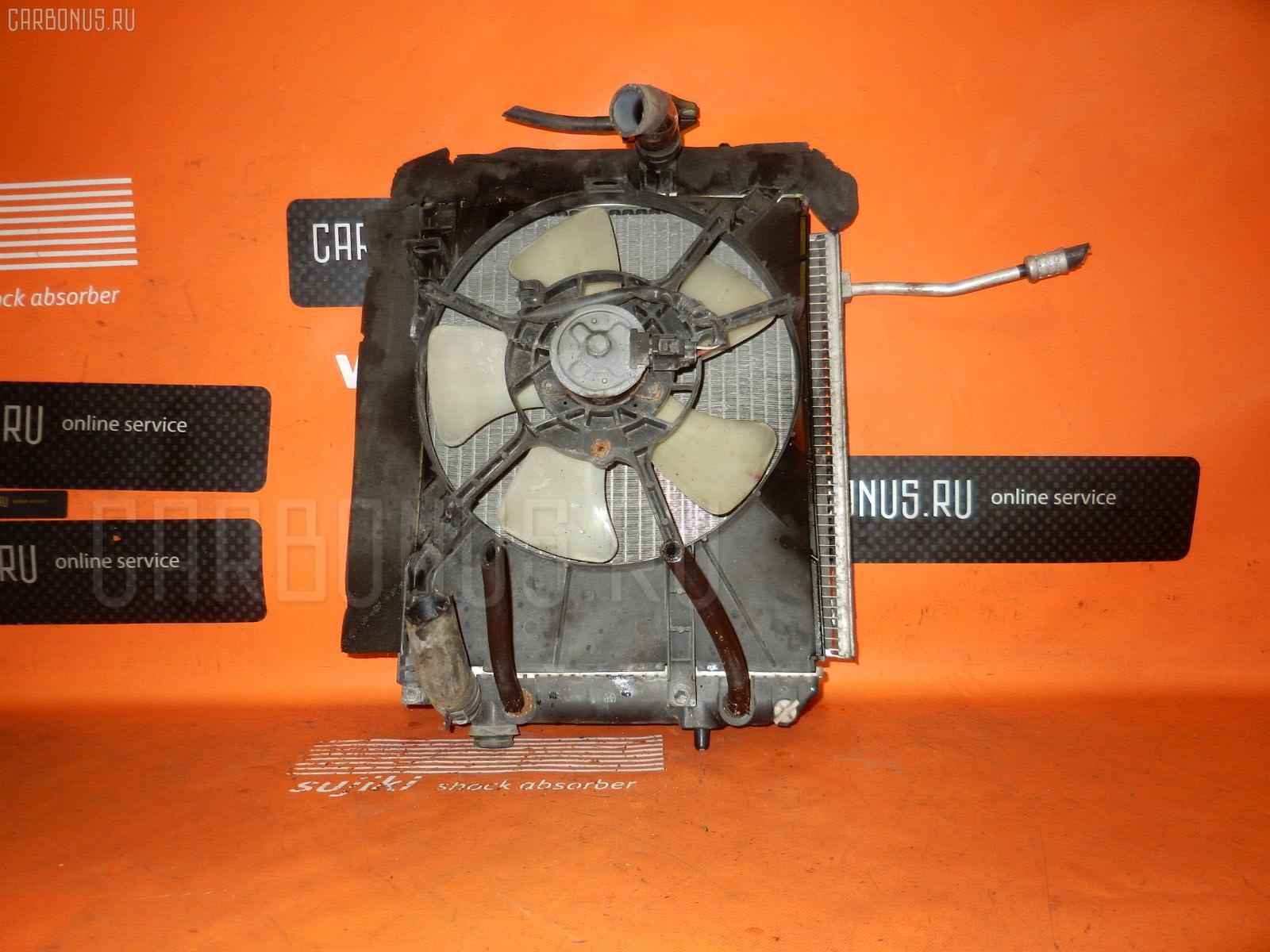 Радиатор ДВС DAIHATSU BOON M300S 1KR-FE. Фото 5