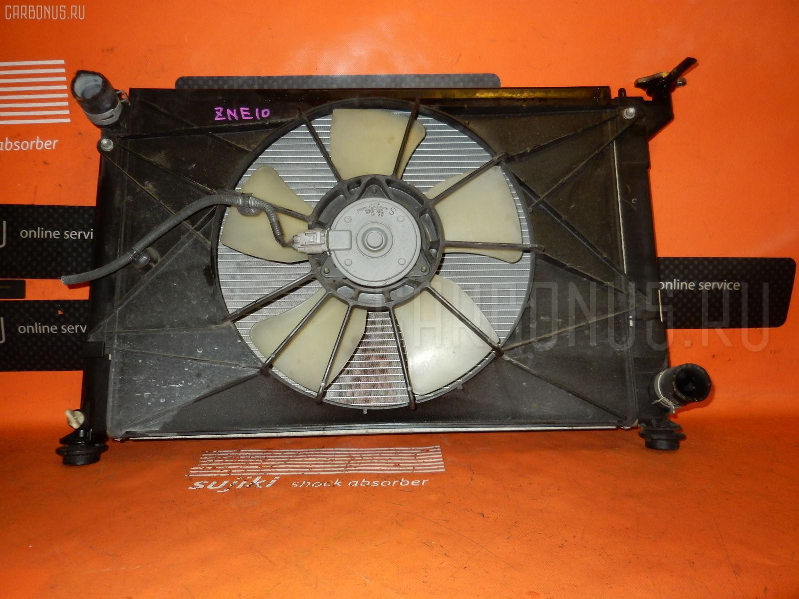 Радиатор ДВС TOYOTA WISH ZNE10G 1ZZ-FE Фото 4