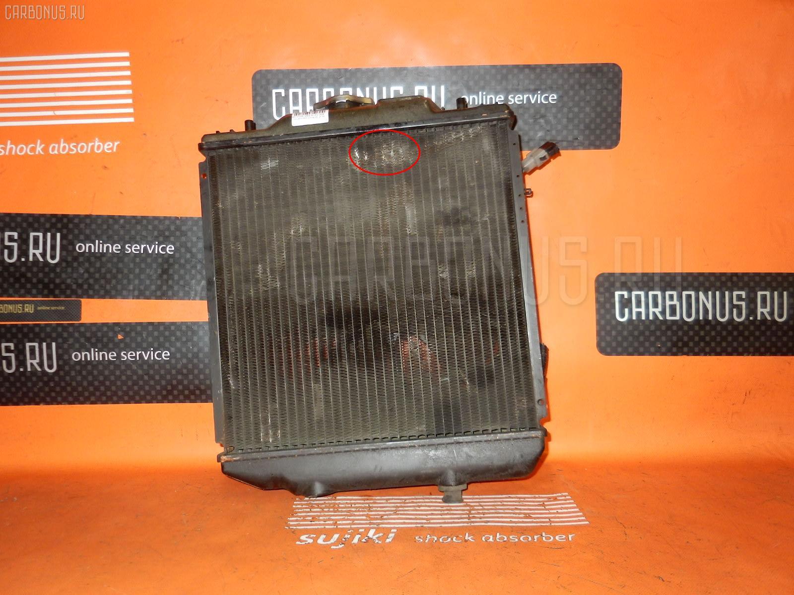Радиатор ДВС SUZUKI WAGON R CT21S F6A Фото 1