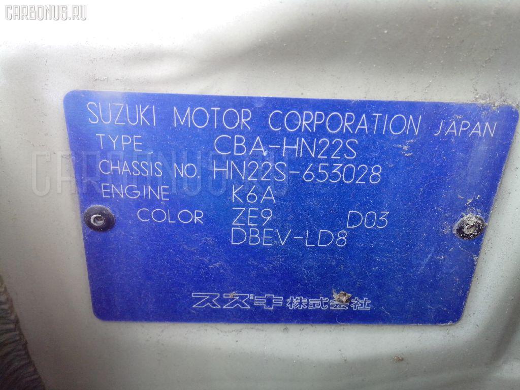 Дверь боковая SUZUKI KEI HN22S Фото 3