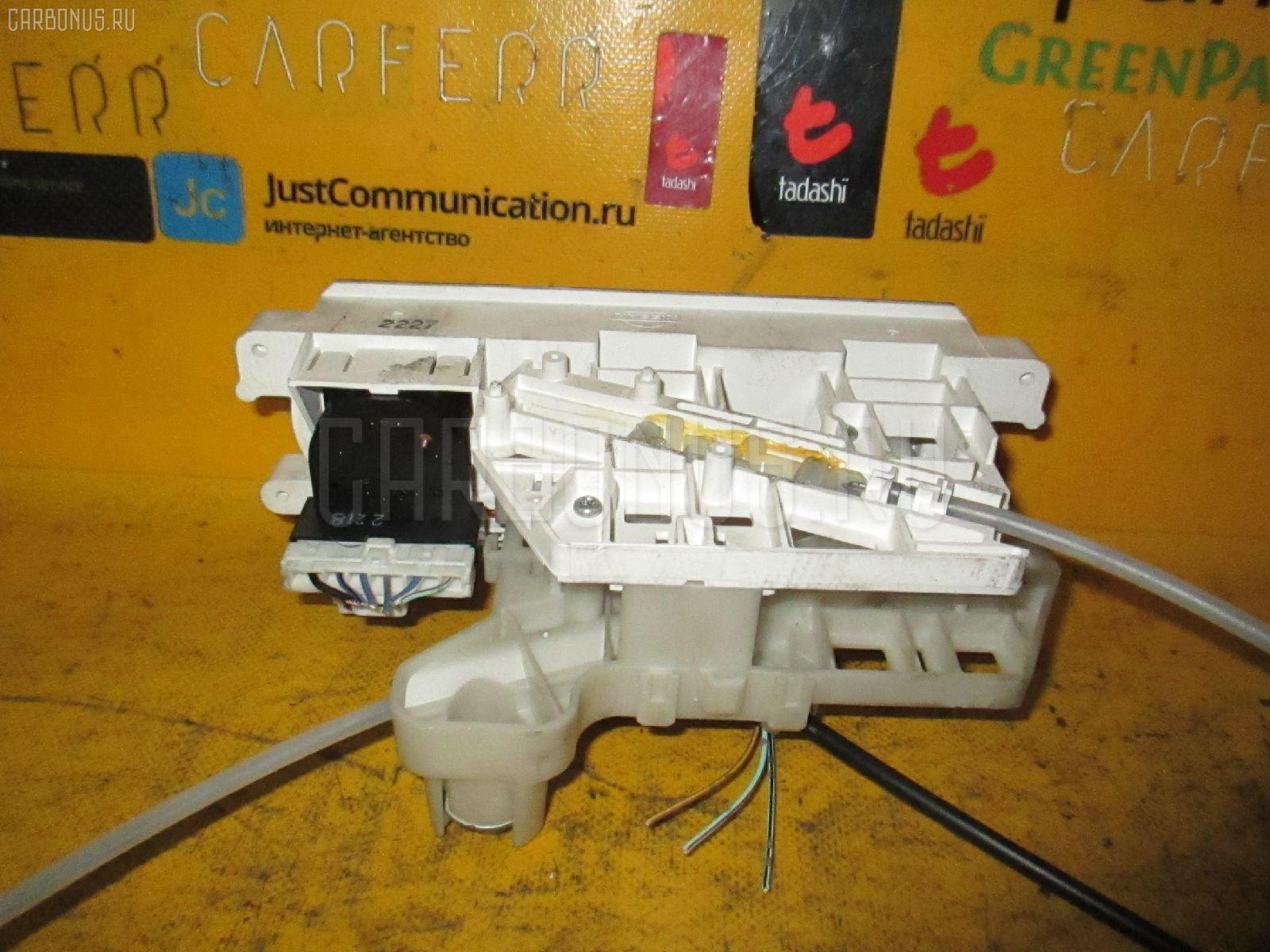 Блок управления климатконтроля NISSAN CUBE AZ10 CGA3DE Фото 1