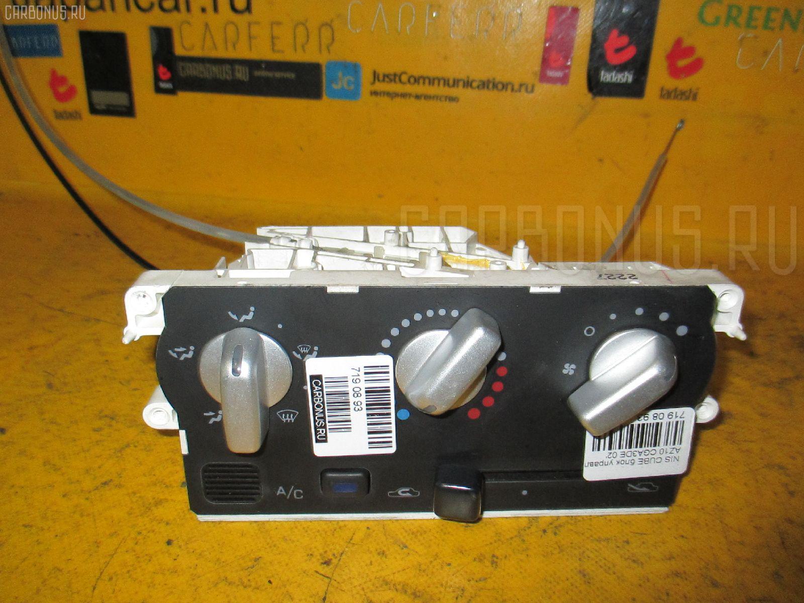 Блок управления климатконтроля NISSAN CUBE AZ10 CGA3DE Фото 2