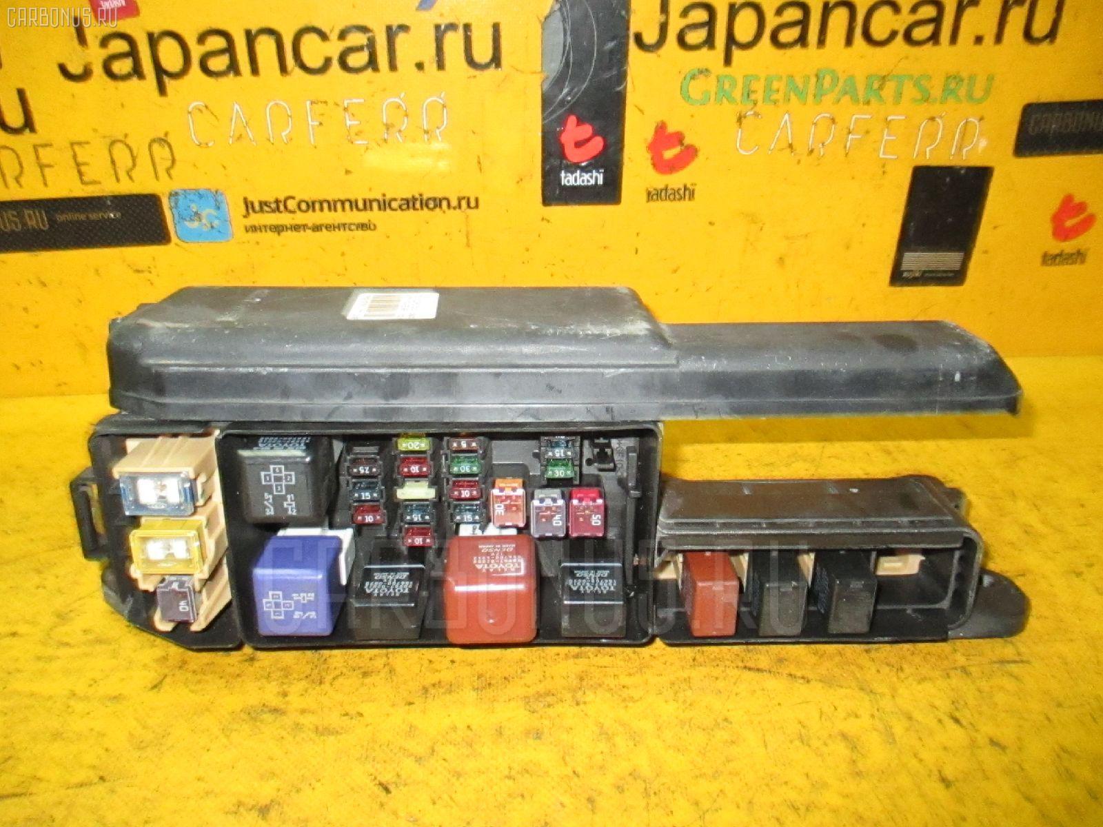 Блок предохранителей TOYOTA CORONA PREMIO AT211 7A-FE. Фото 10