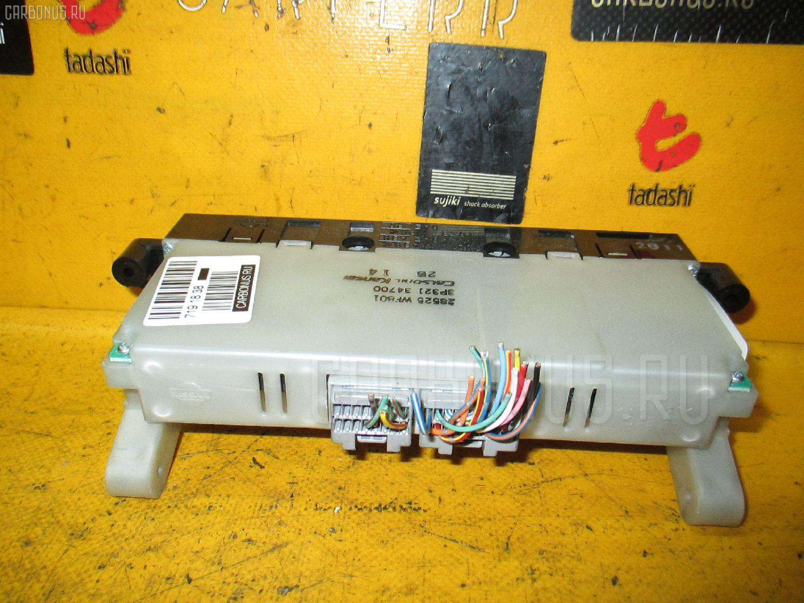 Блок управления климатконтроля NISSAN LIBERTY RM12 QR20DE. Фото 5