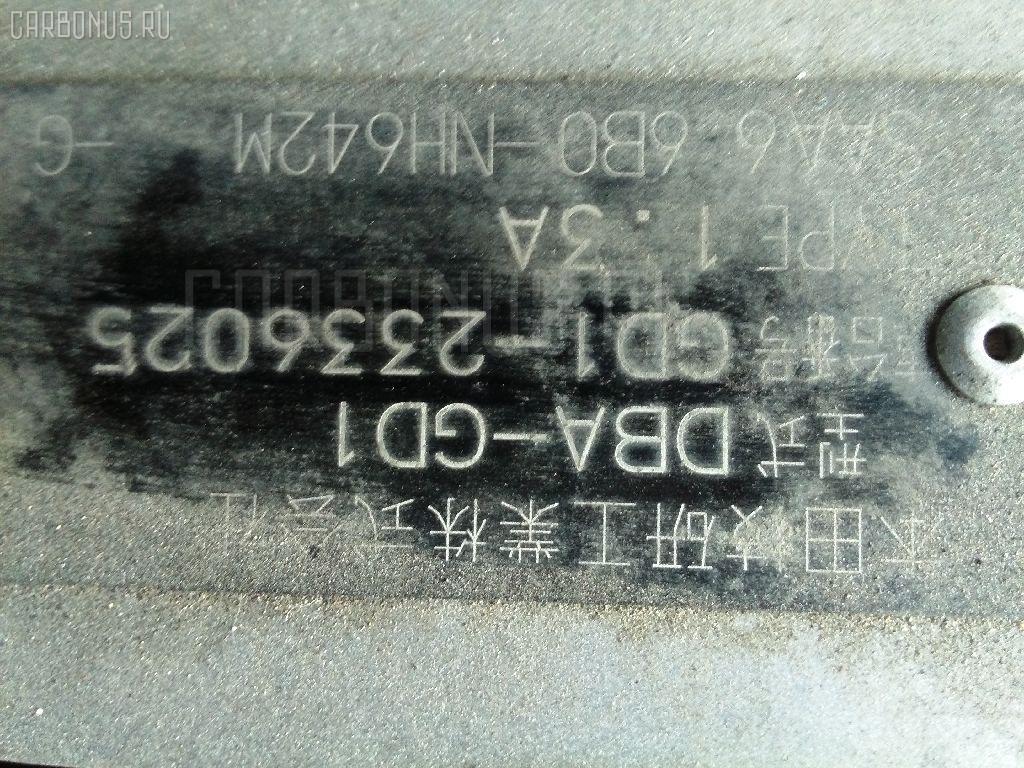 Заливная горловина топливного бака HONDA FIT GD1 L13A Фото 5