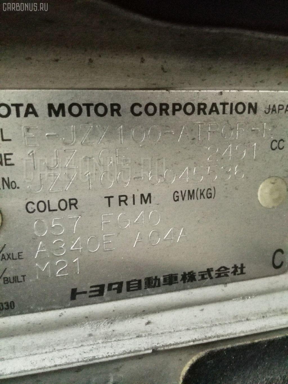 Крышка багажника TOYOTA MARK II JZX100 Фото 6