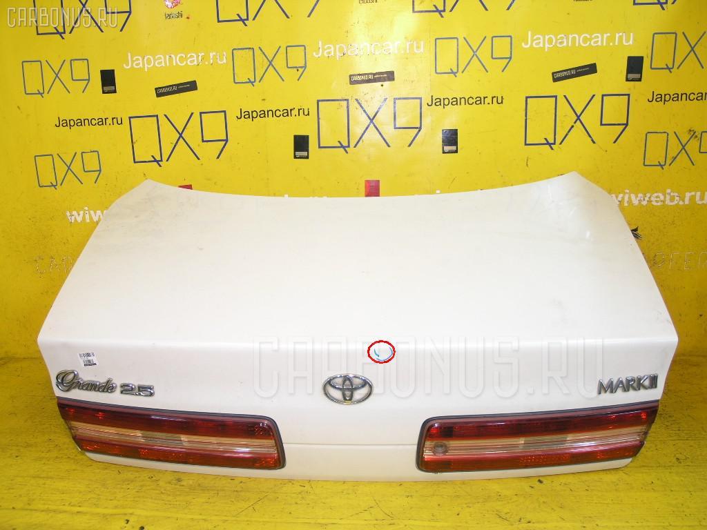 Крышка багажника TOYOTA MARK II JZX100. Фото 7