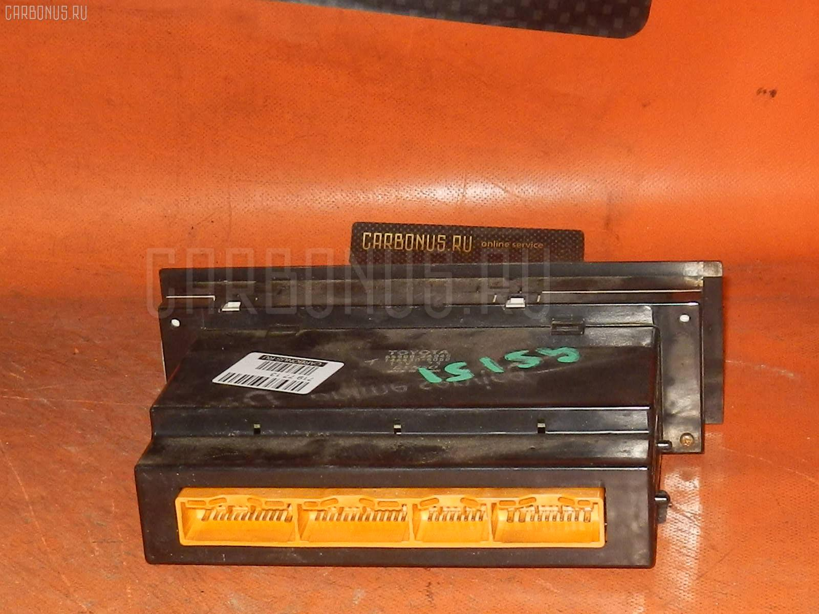Блок управления климатконтроля TOYOTA CROWN GS151 1G-FE. Фото 8