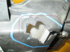Туманка бамперная Mazda Axela sport BL5FW Фото 1