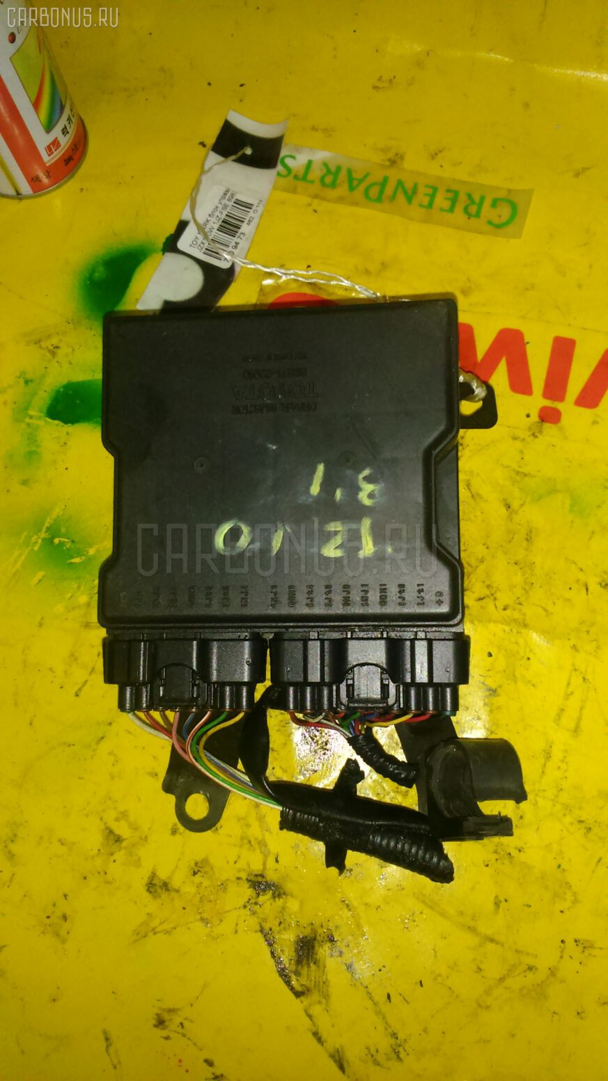 Блок управления инжекторами TOYOTA MARK II BLIT JZX110W 1JZ-FSE Фото 1