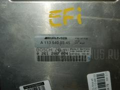 Блок EFI Mercedes-benz S-class W220.175 113.986 Фото 4