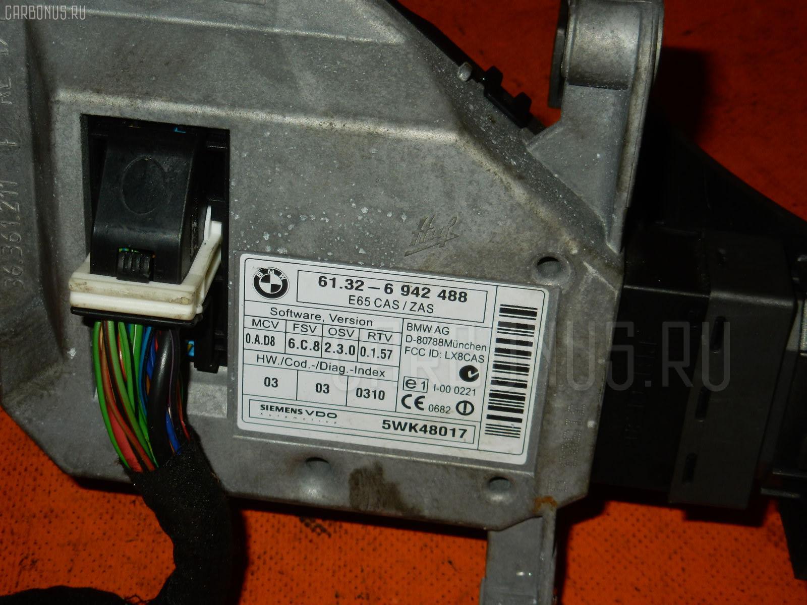 Замок зажигания BMW 7-SERIES E65-GL62 N62B44A Фото 4