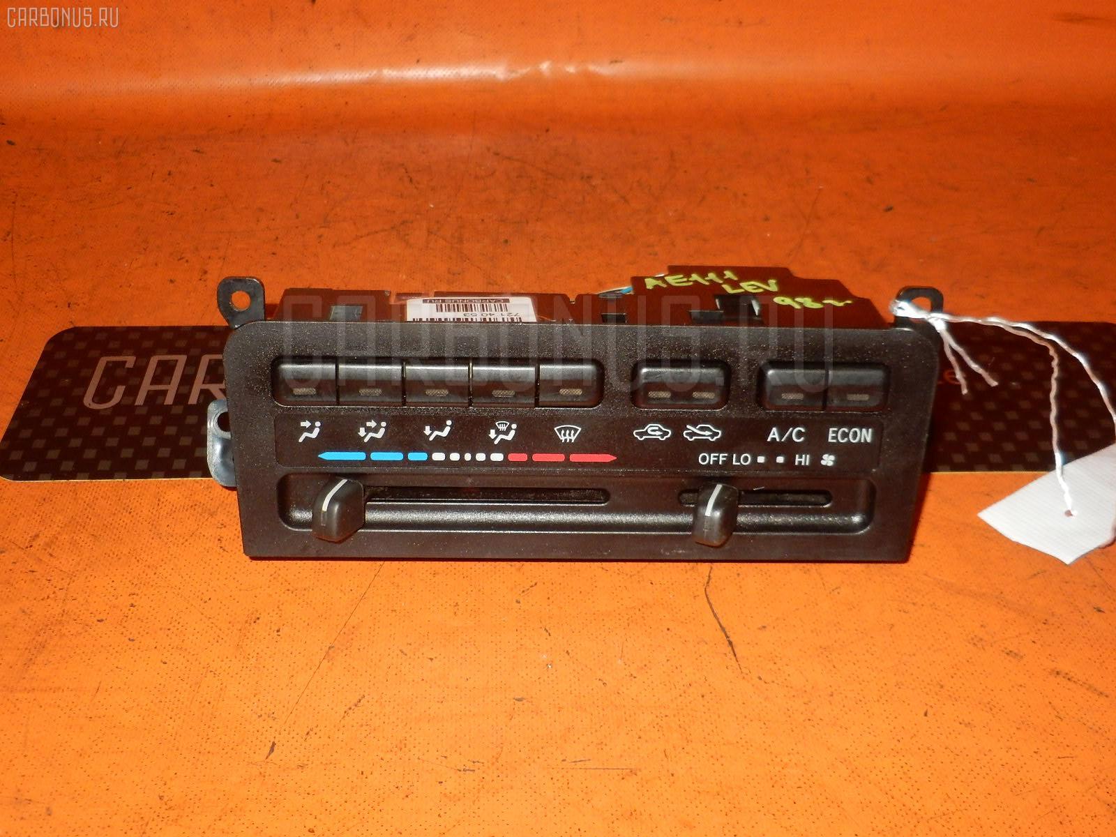 Блок управления климатконтроля TOYOTA COROLLA LEVIN AE111 4A-FE. Фото 1