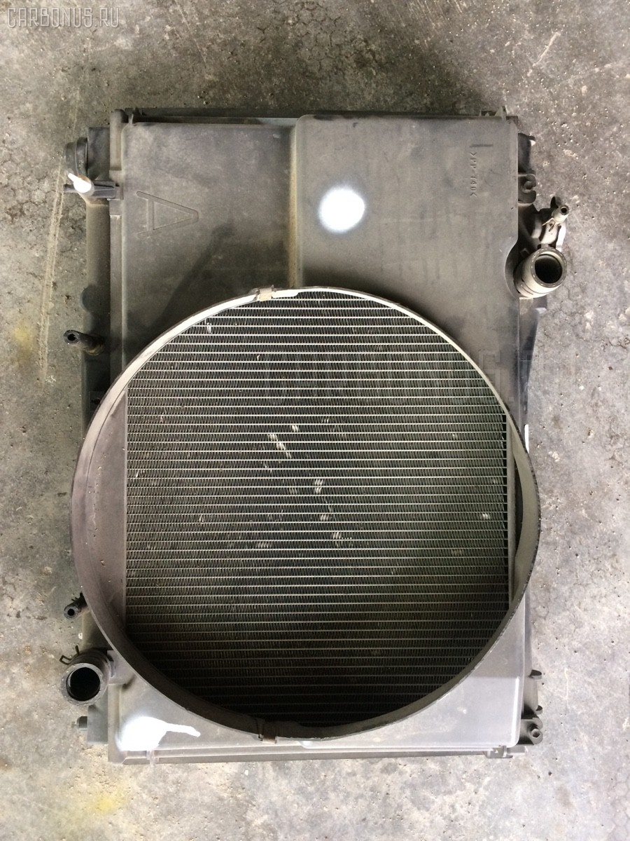 Радиатор ДВС Toyota Crown comfort GXS10 1G-FE Фото 1