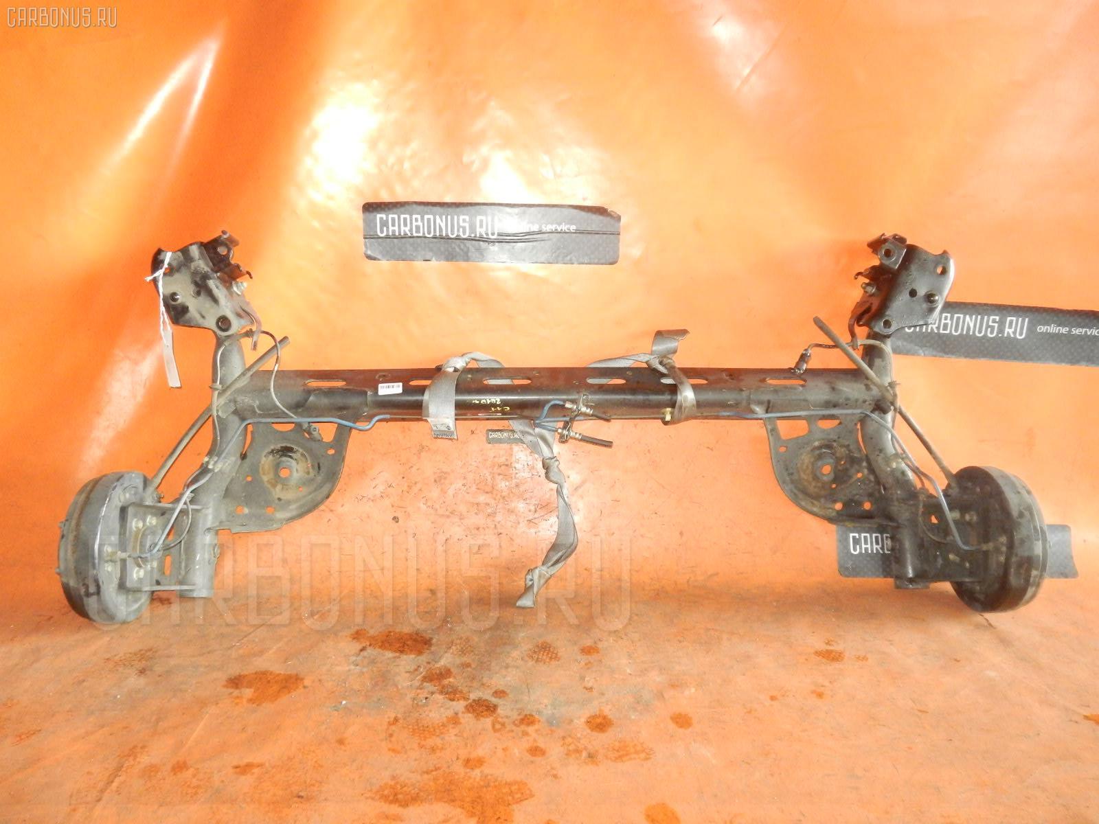 Балка подвески NISSAN TIIDA C11 HR15DE. Фото 4