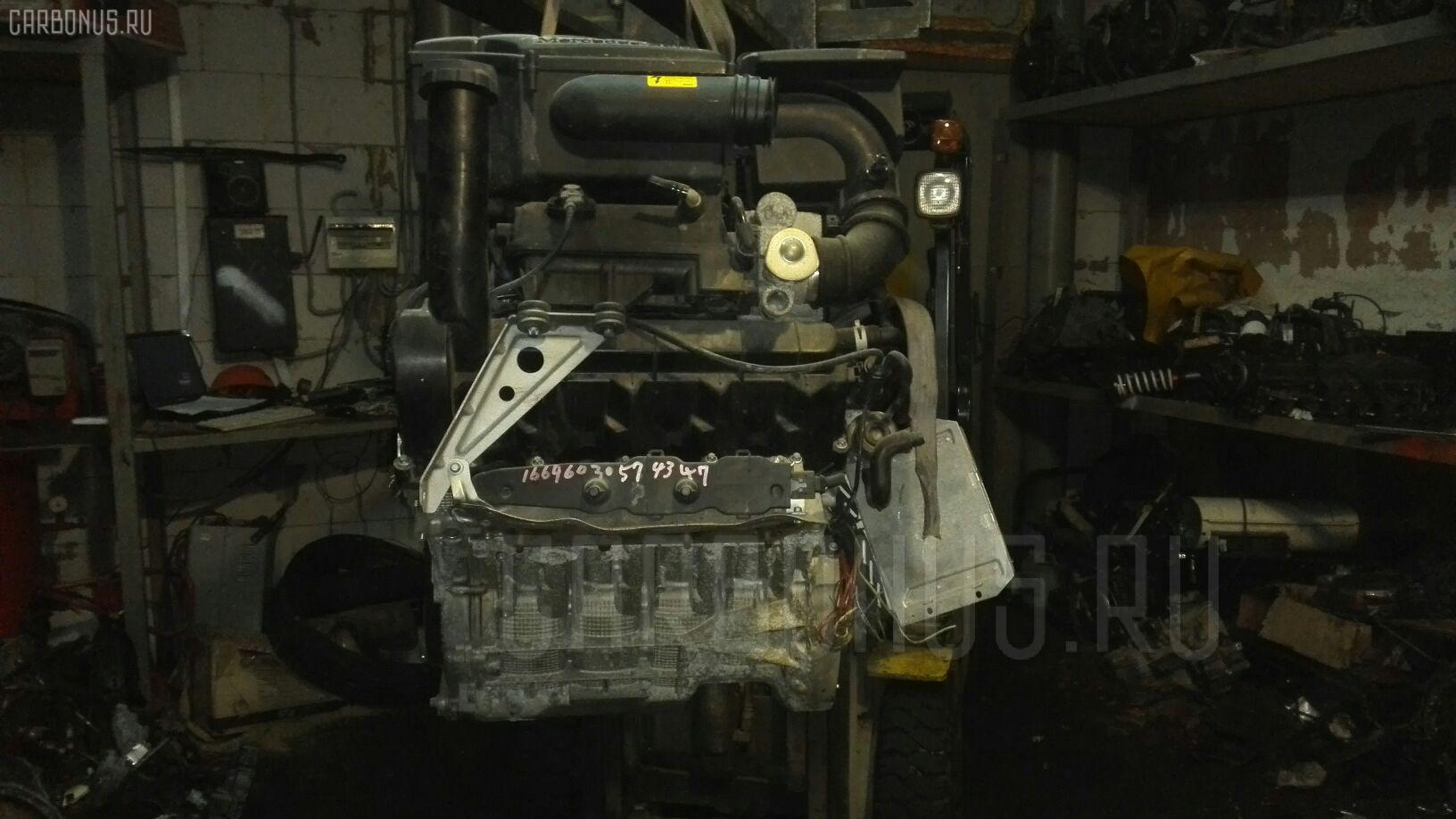 Двигатель MERCEDES-BENZ A-CLASS W168.033 166.960 Фото 2