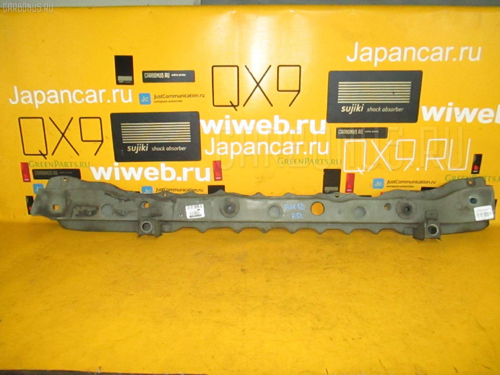 Планка телевизора NISSAN NOTE E11 HR15DE. Фото 8