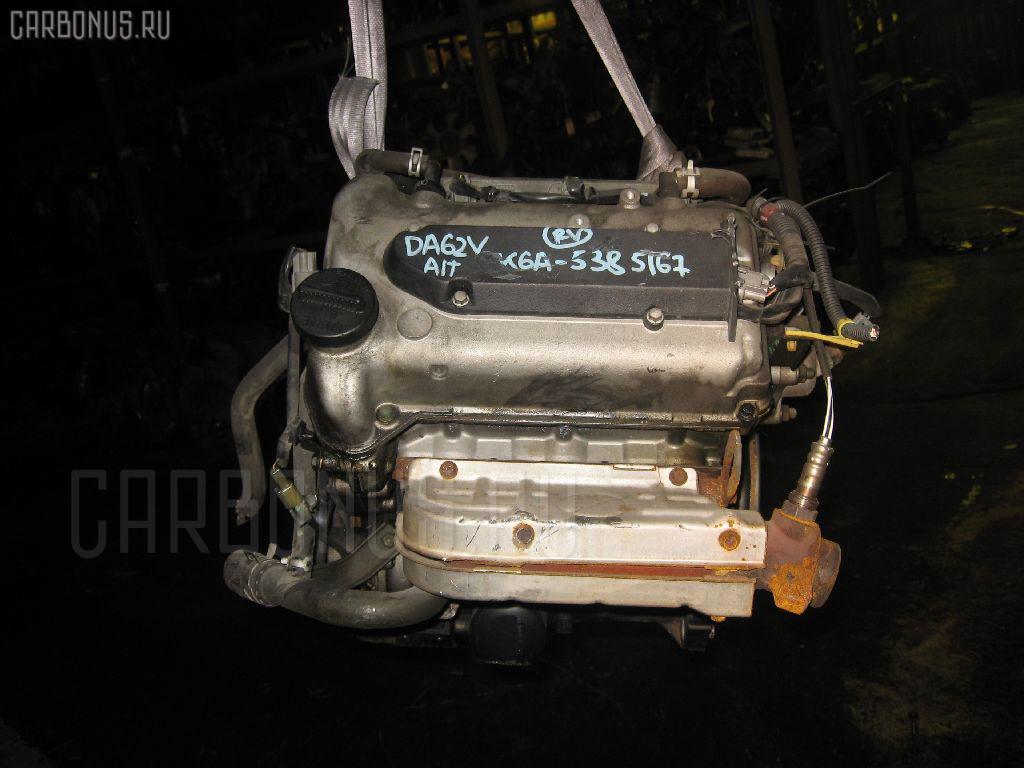 Двигатель SUZUKI EVERY DA62V K6A Фото 9