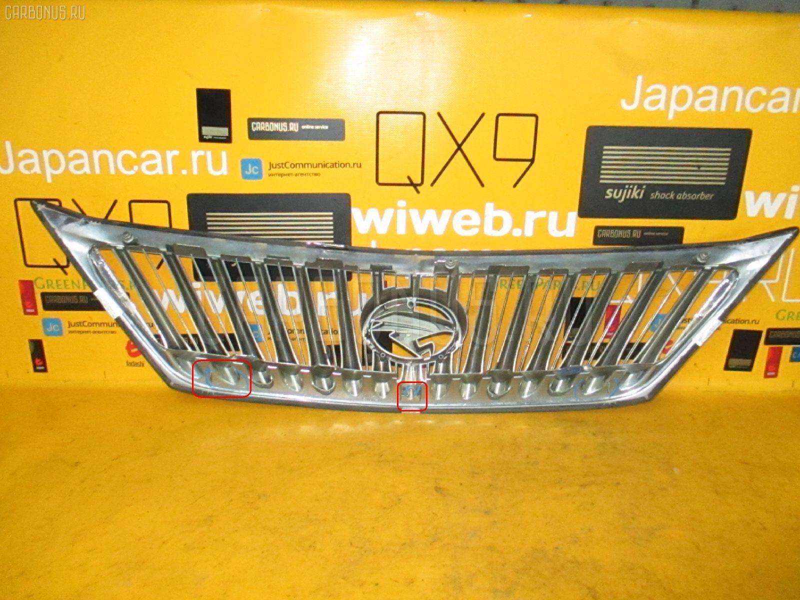 Решетка радиатора TOYOTA HARRIER SXU15W. Фото 5