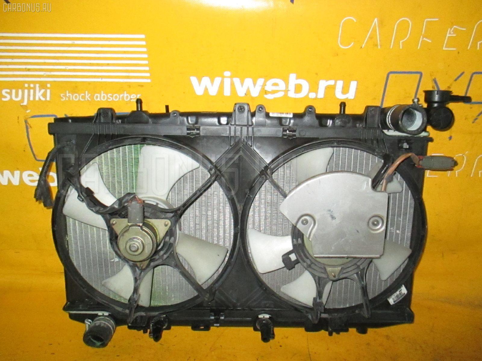 Радиатор ДВС NISSAN AVENIR W10 SR18DE. Фото 3