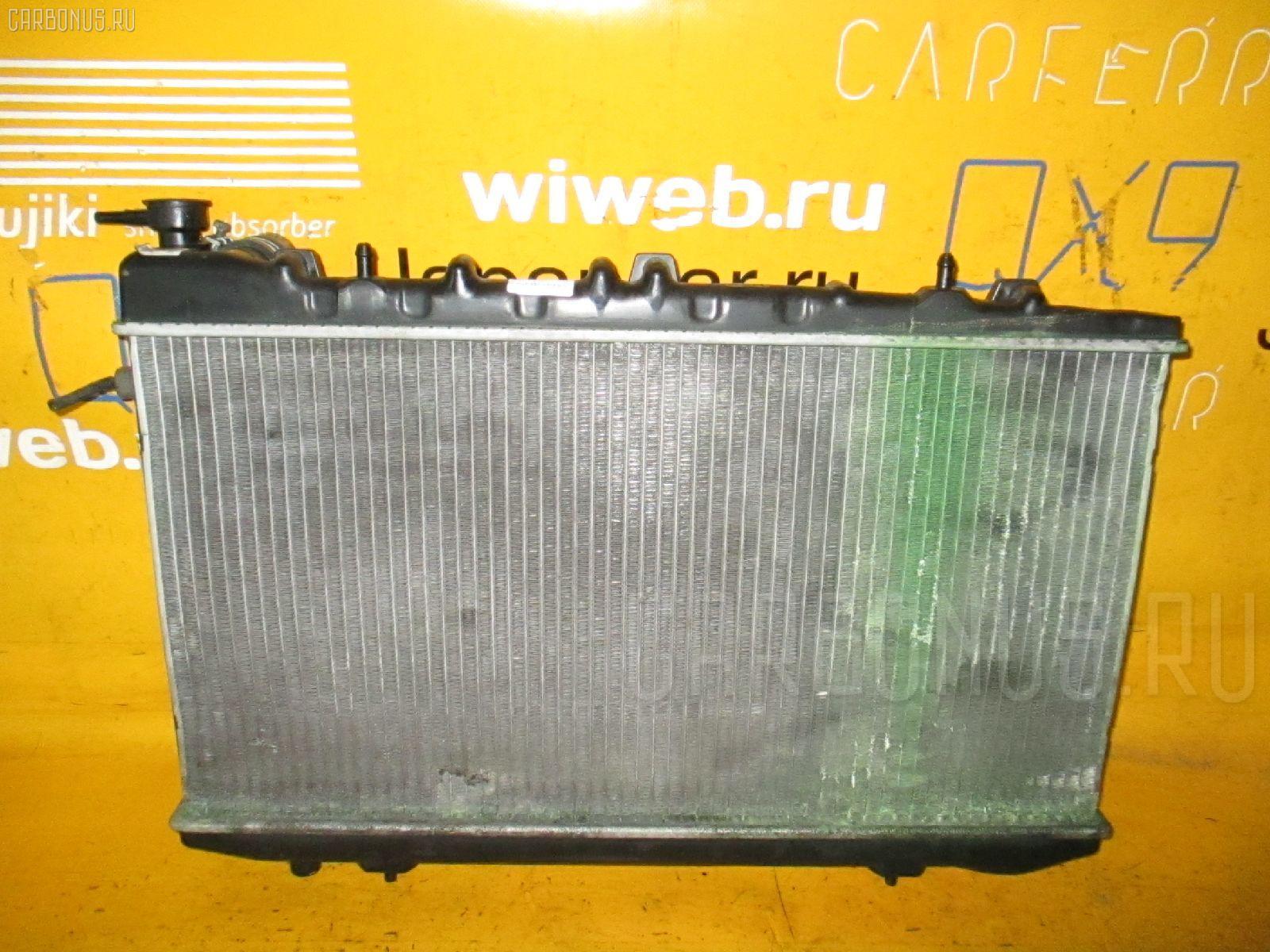 Радиатор ДВС NISSAN AVENIR W10 SR18DE. Фото 4