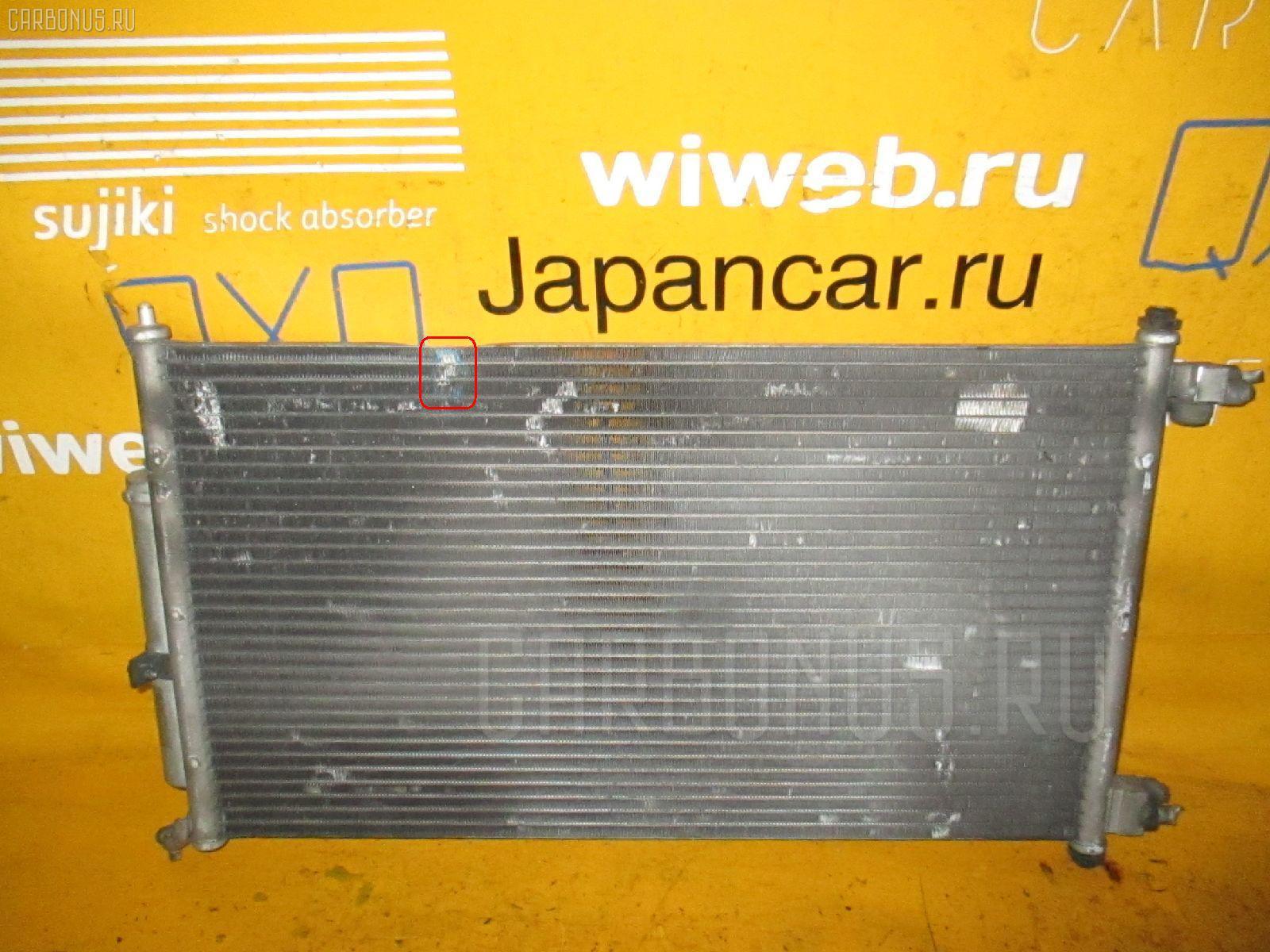 Радиатор кондиционера NISSAN MARCH AK12 CR12DE Фото 2