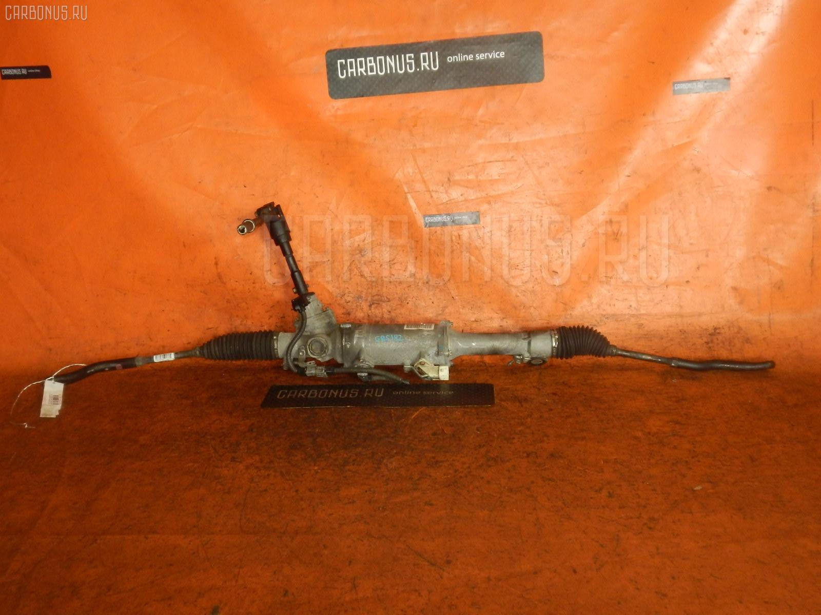 Рулевая рейка TOYOTA CROWN GRS182 3GR-FSE. Фото 3
